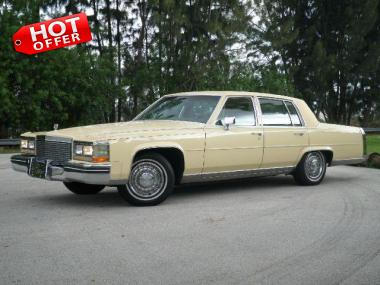 1985 CADILLAC FLEETWOOD BROUGHAM SEDAN 4 Door Used Car For Sale At