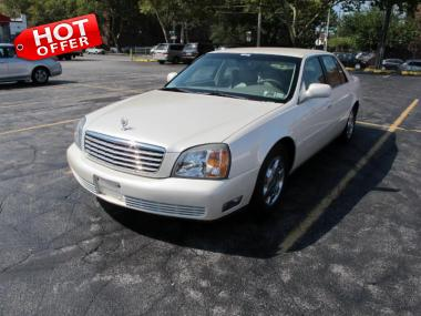 & 2001 CADILLAC DEVILLE Sedan 4 Door Car For Sale On AuctionExport
