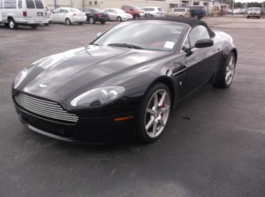 2008 Aston Martin Vantage Roadster Convertible 2 Door Car For Sale