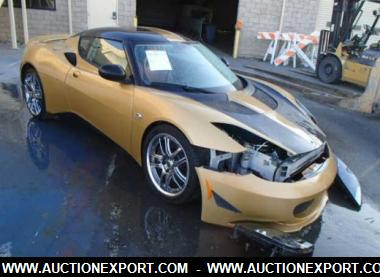 & 2010 LOTUS EVORA COUPE 2 Door Car For Sale @ AuctionExport