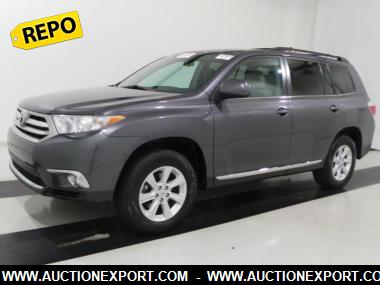 Used 2012 TOYOTA HIGHLANDER BASE SUV 4 Doors Car For Sale At AuctionExport