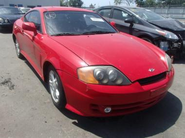 2003 hyundai tiburon gt car for sale in auctionexport. Black Bedroom Furniture Sets. Home Design Ideas