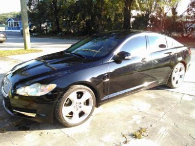 2009 jaguar xf supercharged sedan 4 door car for sale at auctionexport. Black Bedroom Furniture Sets. Home Design Ideas