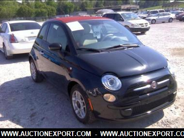 Used 2017 Fiat 500 C Pop Convertible 2 Door Car For At Auctionexport