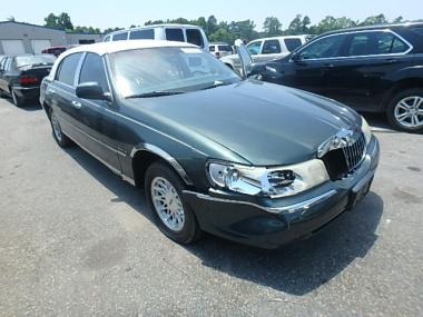 Used 1998 Lincoln Town Car S Car For Sale At Auctionexport