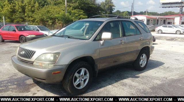 used 1999 lexus rx 300 suv 4 doors car for sale at auctionexport. Black Bedroom Furniture Sets. Home Design Ideas