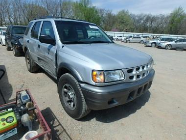 used 2002 isuzu rodeo s ls car for sale at auctionexport. Black Bedroom Furniture Sets. Home Design Ideas