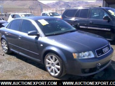 used 2004 audi a4 3 0 quattro sedan 4 door car for sale at auctionexport. Black Bedroom Furniture Sets. Home Design Ideas