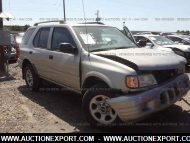 used 2004 isuzu rodeo s wagon 4 door car for sale at. Black Bedroom Furniture Sets. Home Design Ideas