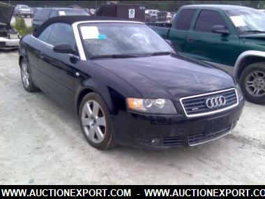 Used 2005 Audi A4 3 0 Quattro Cabriolet With Tiptronic Convertible 2 Door Car For At Auctionexport