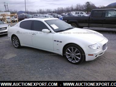 used 2007 maserati quattroporte m139 sedan 4 door car for. Black Bedroom Furniture Sets. Home Design Ideas