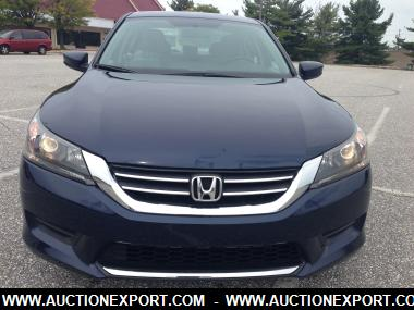 used 2013 honda accord lx sedan 4 doors car for sale at auctionexport. Black Bedroom Furniture Sets. Home Design Ideas