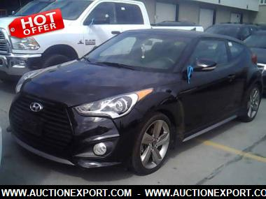 Used 2013 HYUNDAI VELOSTER TURBO Hatchback 3 Doors Car For Sale At  AuctionExport