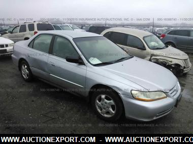 Delightful Used 2001 HONDA ACCORD VALUE PACKAGE Sedan 4 Door Car For Sale At  AuctionExport