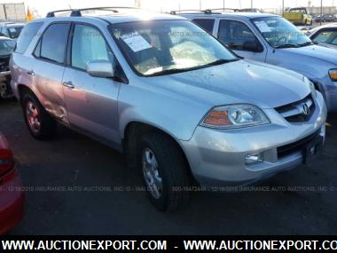 Used 2004 ACURA MDX Wagon 4 Door Car For Sale At AuctionExport