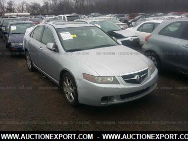 Used 2004 ACURA TSX Sedan 4 Door Car For Sale At AuctionExport