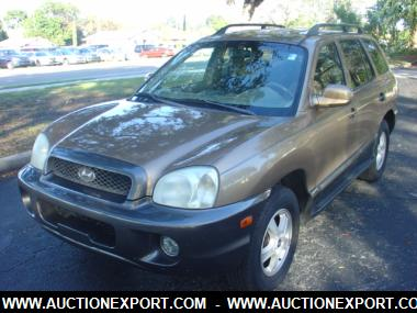 Used 2004 HYUNDAI SANTA FE GLS/LX Car For Sale At AuctionExport