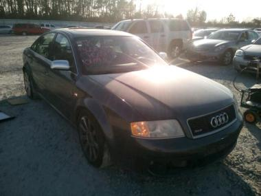 used 2003 audi rs6 car for sale at auctionexport. Black Bedroom Furniture Sets. Home Design Ideas