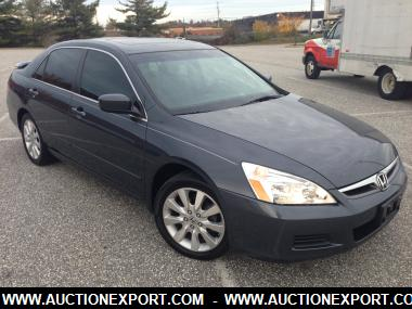 Used 2007 Honda Accord Ex Sedan 4 Doors Car For Sale At Auctionexport