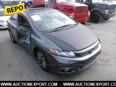 used 2012 honda civic ex l at sedan 4 door car for sale at auctionexport. Black Bedroom Furniture Sets. Home Design Ideas