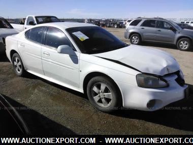 used 2007 pontiac grand prix sedan 4 door car for sale at auctionexport. Black Bedroom Furniture Sets. Home Design Ideas