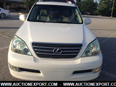 used 2006 lexus gx 470 suv 5 doors car for sale at auctionexport. Black Bedroom Furniture Sets. Home Design Ideas
