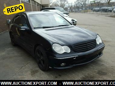 Used 2006 mercedes benz c230 car for sale at auctionexport for Mercedes benz 2006 c230