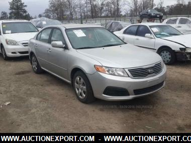 Attractive Used 2009 KIA OPTIMA LX/EX Sedan 4 Door Car For Sale At AuctionExport