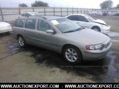 used 2004 volvo v70 station wagon car for sale at auctionexport. Black Bedroom Furniture Sets. Home Design Ideas
