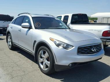 2009 infiniti fx35 color options