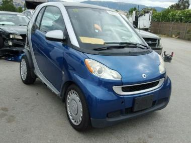 used 2009 smart fortwo pur car for sale at auctionexport. Black Bedroom Furniture Sets. Home Design Ideas