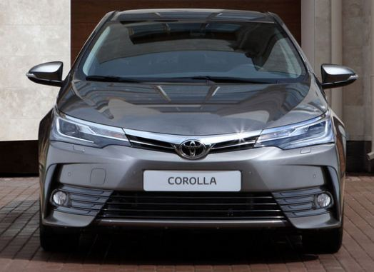 Cost Of Toyota Corolla Car In India