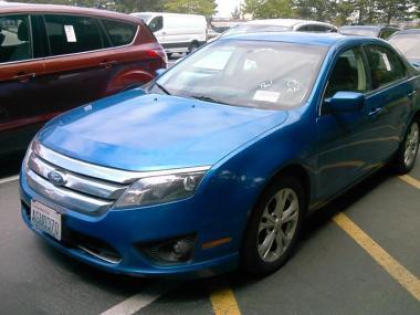 & Used 2012 FORD FUSION I4 SE SEDAN 4 Door Car For Sale At AuctionExport markmcfarlin.com