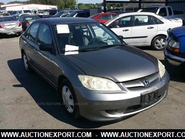2004 Honda Civic Lx With Front Side Airbags