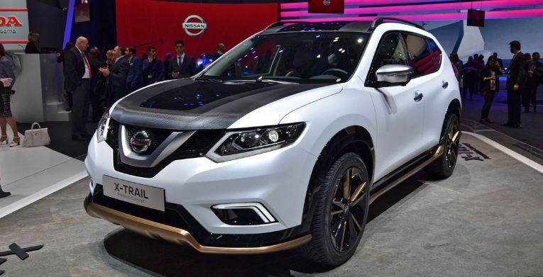 the updated nissan x trail. Black Bedroom Furniture Sets. Home Design Ideas