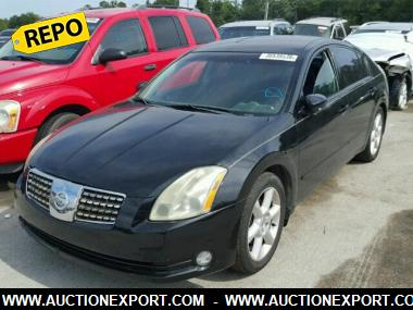 used 2004 nissan maxima se car for sale at auctionexport. Black Bedroom Furniture Sets. Home Design Ideas