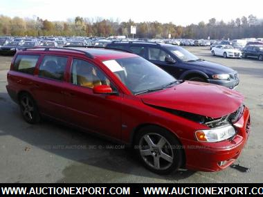 used 2005 volvo v70 r wagon 4 door car for sale at auctionexport. Black Bedroom Furniture Sets. Home Design Ideas