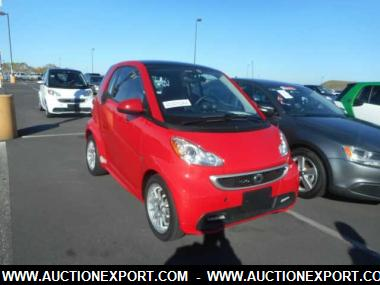 used 2014 smart fortwo electric coupe 2 door car for sale at auctionexport. Black Bedroom Furniture Sets. Home Design Ideas