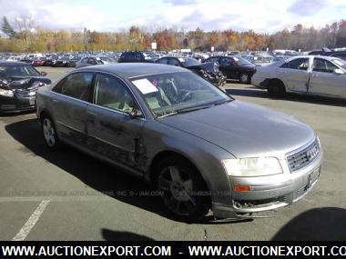 used 2004 audi a8 l quattro sedan 4 door car for sale at auctionexport. Black Bedroom Furniture Sets. Home Design Ideas