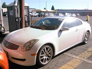 used 2006 infiniti g35 coupe car for sale at auctionexport. Black Bedroom Furniture Sets. Home Design Ideas