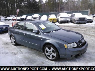 used 2003 audi a4 1 8t quattro sedan 4 door car for sale. Black Bedroom Furniture Sets. Home Design Ideas