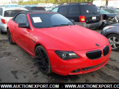 used 2007 bmw 650i convertible car for sale at auctionexport. Black Bedroom Furniture Sets. Home Design Ideas