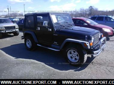 insurance auction 2005 jeep wrangler ohio. Black Bedroom Furniture Sets. Home Design Ideas
