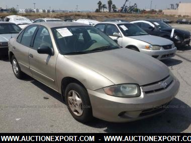 used 2005 chevrolet cavalier sedan 4 door car for sale at auctionexport. Black Bedroom Furniture Sets. Home Design Ideas