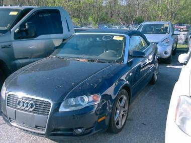 Used 2007 Audi A4 Cabriolet 20t Convertible Car For Sale At