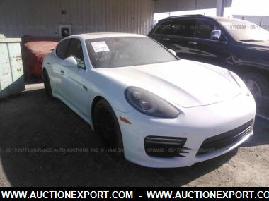 Used 2015 PORSCHE PANAMERA GTS SEDAN 4 Door Car For Sale At AuctionExport