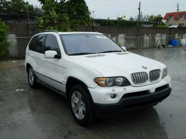 2006 BMW X5 44I Car For Sale At AuctionExport