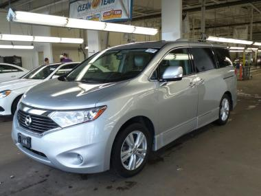 used 2013 nissan quest s sv sports van car for sale at auctionexport. Black Bedroom Furniture Sets. Home Design Ideas