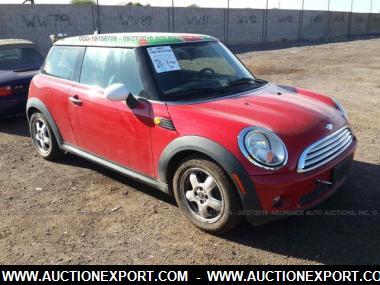 used 2009 mini cooper car for sale at auctionexport. Black Bedroom Furniture Sets. Home Design Ideas