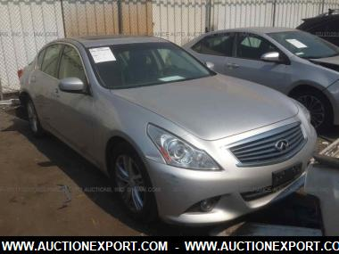 Used 2012 Infiniti G37 SPORT Car For Sale At AuctionExport